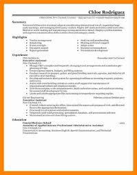 13 sample executive assistant resume sap appeal