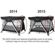 Are Mini Cribs Safe by Nuna Sena Mini 2013 Travel Crib Scarlet