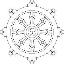 file original dharma wheel svg wikimedia commons