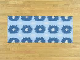 Flat Weave Runner Rugs 2 5 X6 Handmade Geometric Design Reversible Kilim Flat Weave