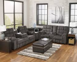 decorating ashley furniture sectional with brown sofa and blue