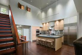 Kitchen Lighting Ideas For Vaulted Ceilings Inspiring Some Vaulted Ceiling Lighting Ideas To Your Home