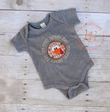 baby s 1st thanksgiving embroidered shirt bodysuit 1st
