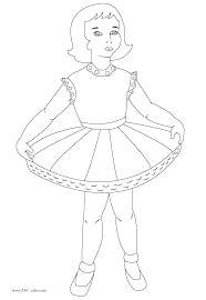 astounding ballet positions coloring pages with ballerina coloring