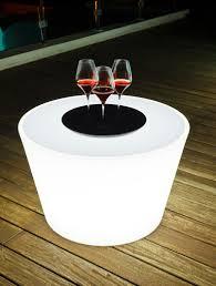 Led Outdoor Furniture - led drum centre table led garden furniture luxury garden