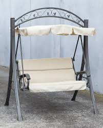 globo royal double wooden swing chair set in 3 colours hammock