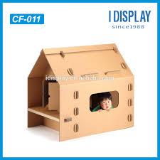 recyclable education plain cardboard house cardboard castle buy