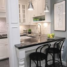comfortable condo kitchen design ideas with small living room in