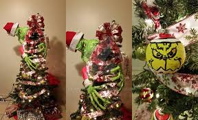 grinch christmas tree grinch themed christmas tree by anaisgomez on deviantart