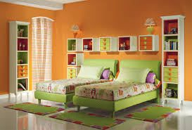 Girls Bedroom Furniture Set by Bedroom Attractive White And Green Double Bed For Kids Bedroom