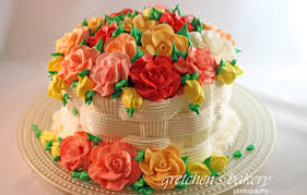 flower cakes basketweave flower cake for beginners