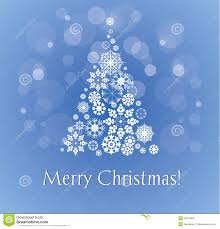snowy christmas pictures merry christmas card with snowy christmas tree stock vector