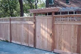 wooden fences backyard fences family fences glenview il