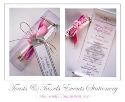 Scroll Invitations Scroll Invitations