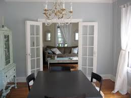 dining room new white curtains grey pictures benjamin moore