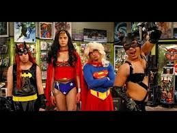 Big Bang Theory Halloween Costumes Big Bang Theory Justice League Scenes
