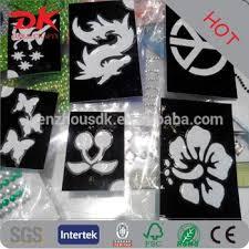 custom self adhesive mould henna tattoo kits buy henna tattoo