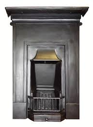 antique 1920s cast iron bedroom combination fireplace