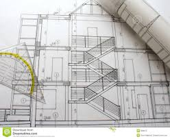 free architectural plans architecture plans stock image image of design ruler 284779