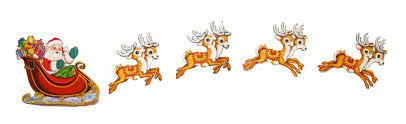 santa and reindeer clipart clipart collection santa and