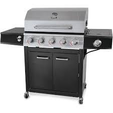 Brinkmann Portable Gas Grill by Backyard Grill 72 000 Btu 5 Burner Gas Grill Stainless Steel