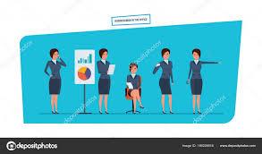 bureau des statistiques femme d affaires dans des situations de travail de bureau recherche
