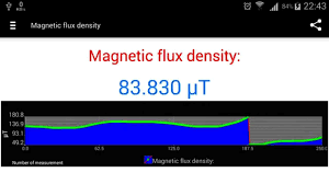 magnetometer android android magnetometer application
