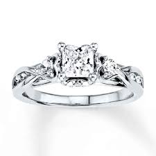 Jared Cushion Cut Engagement Rings Princess Cut Engagement Rings At Jared Best Images Collections
