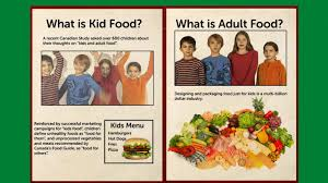 kids food versus food on vimeo