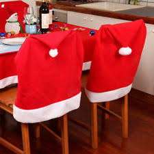 santa chair covers christmas chair covers ebay