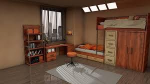 children room 3d cgtrader