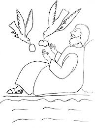 bible story coloring elijah widow zarephath