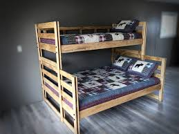 we build solid wood bunk beds bunkbed shack