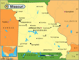 united states major cities map missouri county map