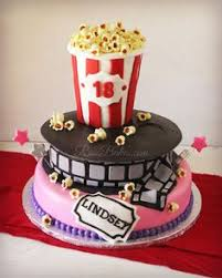 tv movies celebrity hollywood film reels 3d cake movie