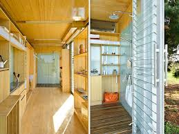 container home interior design compact and sustainable port a bach shipping container home