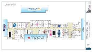 Shopping Mall Floor Plan Pdf Lease Plan U2013 Swansea Mall