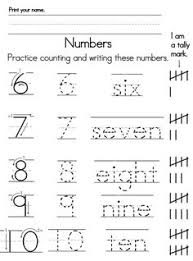 tracing numbers 0 through 9 number tracing numbers and learning