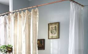 Copper Curtain Rods Diy Copper Curtain Rods For Your Home