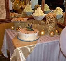 Table Decorations for 60th Wedding Anniversary Elegant Cake and