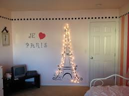 paris bedroom decor lit eiffel tower for my daughter s paris themed room paris