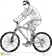 how to draw someone riding a bicycle bicycle model ideas