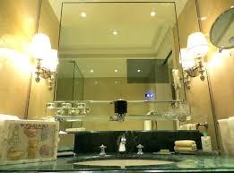 built in bathroom mirror tv in bathroom mirror cost furniture the most unusual ideas