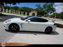 porsche car 4 door 2014 porsche panamera 4 custom black white
