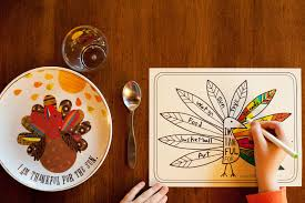 made by joel printable placemat for giving thanks