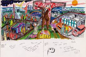 Grayson Perry Vanity Of Small Differences Perry U2014 Sketches
