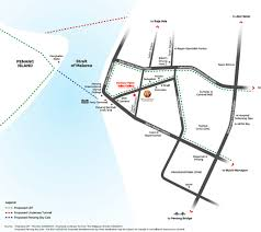 mapping layout perusahaan woodsbury suites harbour place penang osk property