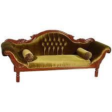 canapé colonial canapé colonial acajou velours vert grignon meuble de style