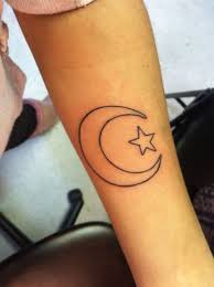 best 25 moon star tattoo ideas on pinterest moon sun star
