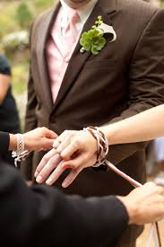 celtic wedding knot ceremony handfasting literally tying the knot an ancient celtic